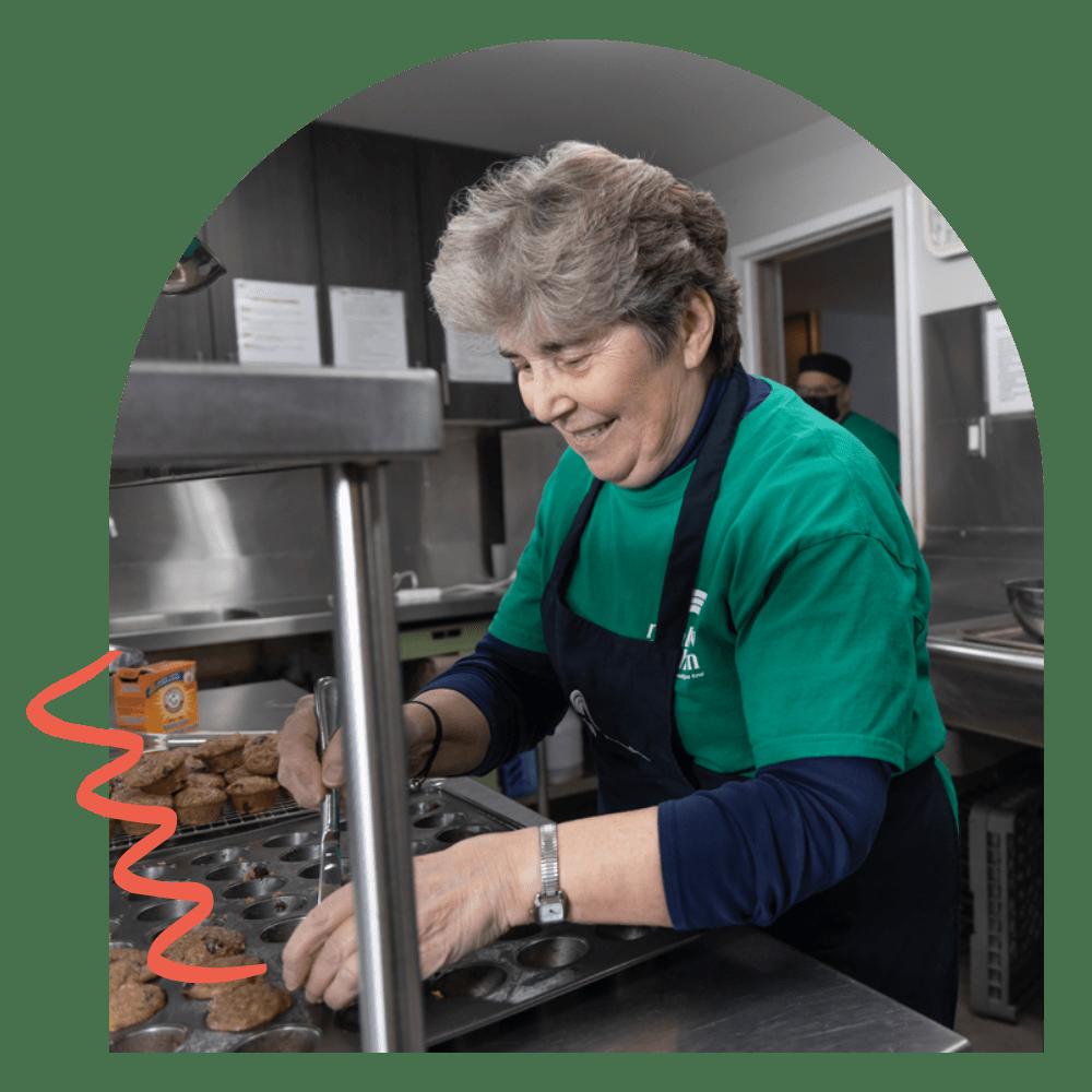 Rainbow Kitchen Volunteer Baking
